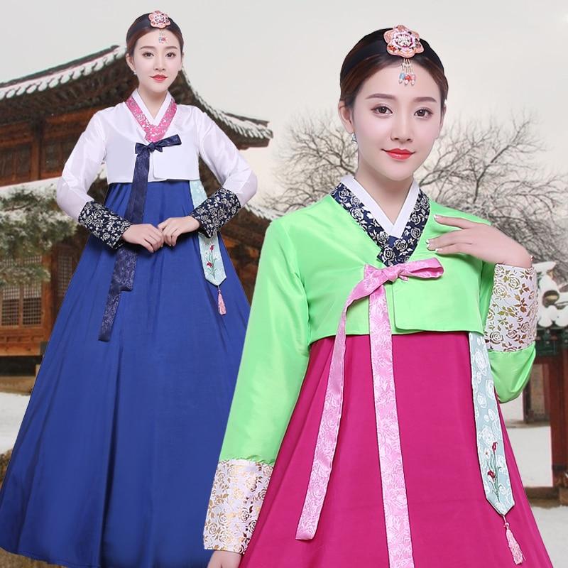 Korean traditional costume ladies national costumes Korean costumes dance clothes stage costumes