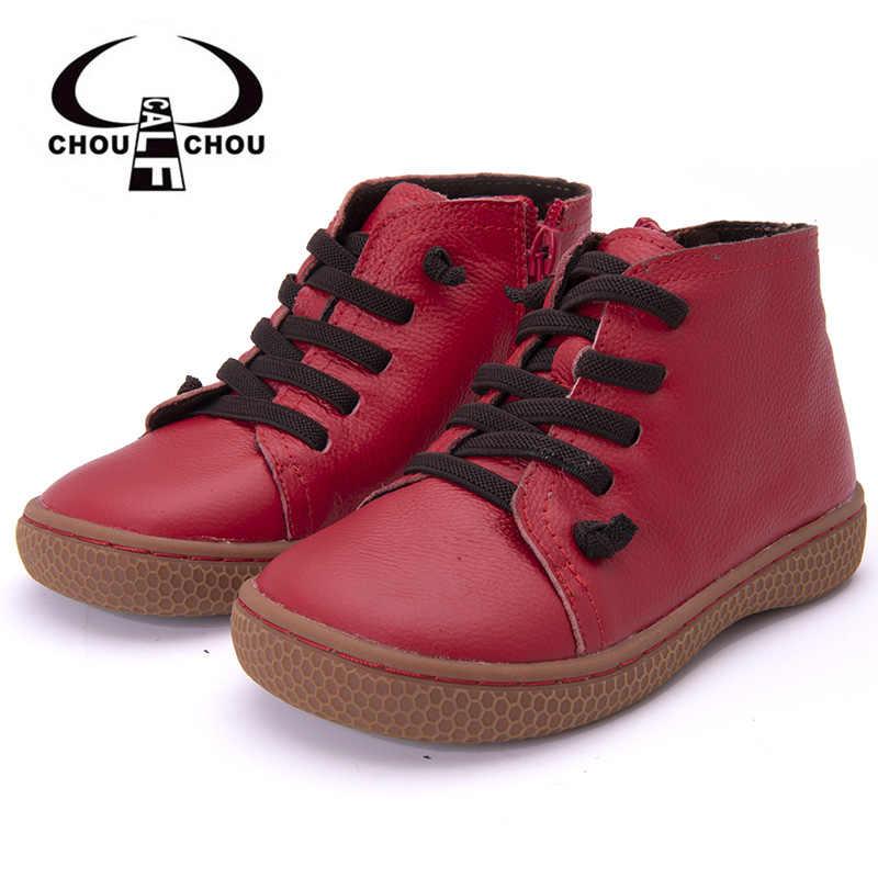 ed640ed8388 Зимняя детская обувь из натуральной кожи сапоги для малышей теплая одежда  для девочек плюшевые мягкая обувь