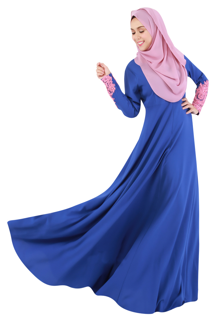 Muslim Women Dress Long Sleeve Maxi long dress