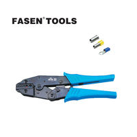 FASEN TOOLS HS 06WF2C Ratchet Crimping Plier Insulated Terminals 0 5 2 5mm 20 13AWG Hands