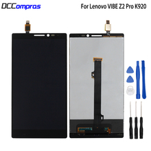 For Lenovo VIBE Z2 Pro K920 LCD Display Touch Screen Assembly Phone Parts For Lenovo K920 Screen LCD Display Free Tools