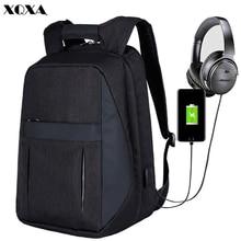 Mochila Anti Roubo 17 Inch Backpack USB Charging Bagpack Men Women Young College Schoolbag Leptop Business Work Bolsa Feminina