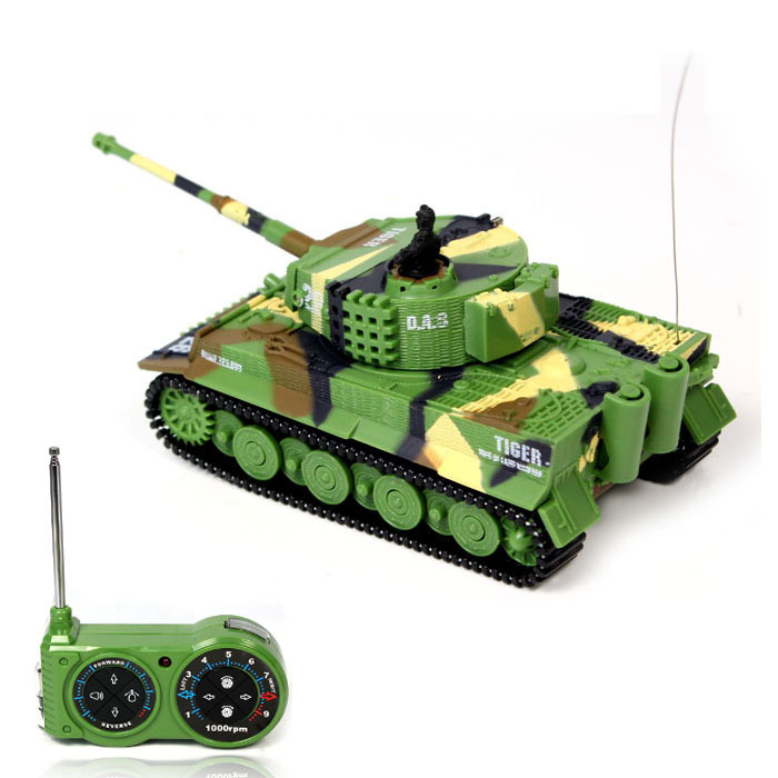2016 New Promotion!! 1:72 Classic R/C Radio Remote Control Tiger RC Tank Model For Children Gifts Free Shipping Wholesale