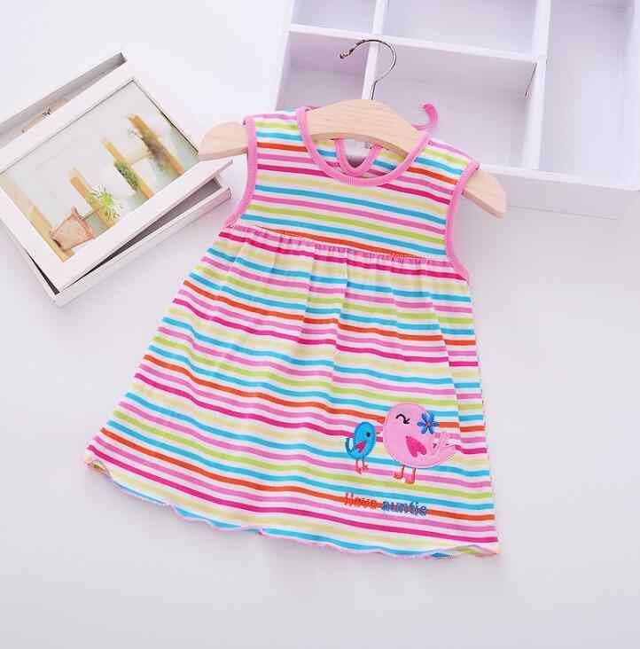 Платья для маленьких девочек, платье для маленьких девочек вечерние ная одежда принцессы, 2019 Детская летняя хлопковая одежда для дня рождения и свадьбы