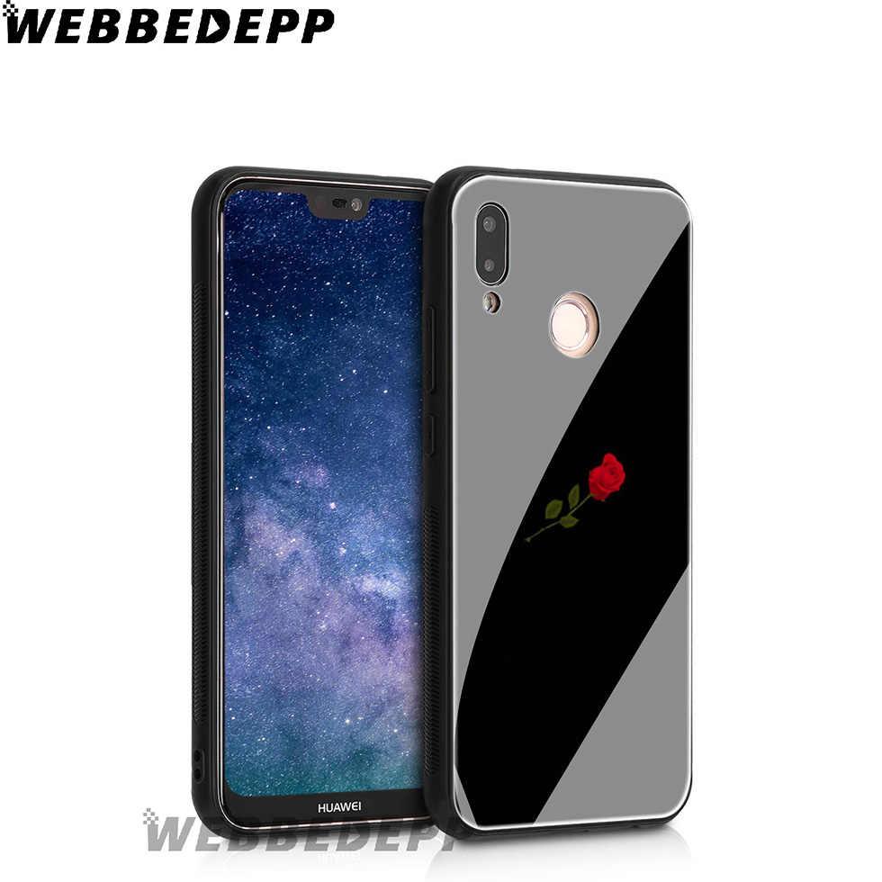 WEBBEDEPP James Charles hermana de vidrio templado para Huawei Mate 20 P20 P10 P Smart 2019, 2018 & Honor 10 9 8X 7A Lite Pro