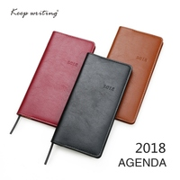 2018 Agenda Two Pages A Week Weekly Plan 60 Sheets 80gsm Paper Stationery Journal Notes Pocketbook