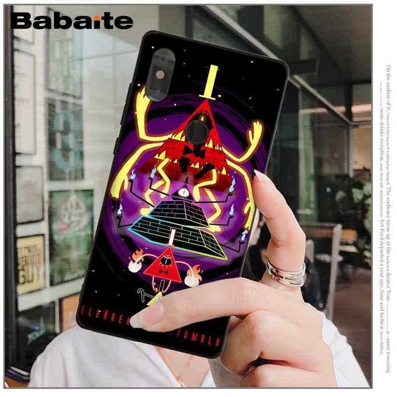Babaite Anime Trọng Lực Rơi Fa mi ly TỰ In Ấn Vẽ Điện Thoại Trường Hợp Shell đối với Xiao mi mi mi X 2 2 S 6 8 8SE Lưu Ý 3 Màu Đỏ mi 5 cộng với