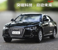 1 32 Free Shipping Scale Audi A6L Alloy Diecast Car Model Pull Back Toy Car Model