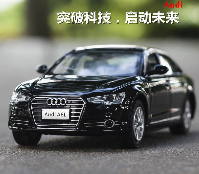 Double Horses 1 32 free shipping Scale Audi A6L Alloy Diecast Car Model Pull Back font