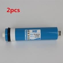 2pcs Reverse osmosis filter reverse osmosis membrane HID TFC 2012- 100 GPD RO membrane filter element ro system filter membrane