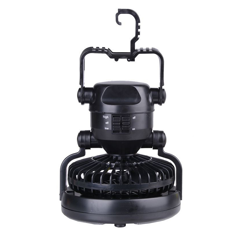 Camping Light & Fan 18 LED and <font><b>Ceiling</b></font> Fan Outdoor Hiking Flashlight Bicycle Light Portable Hanging Tent Lantern --M25