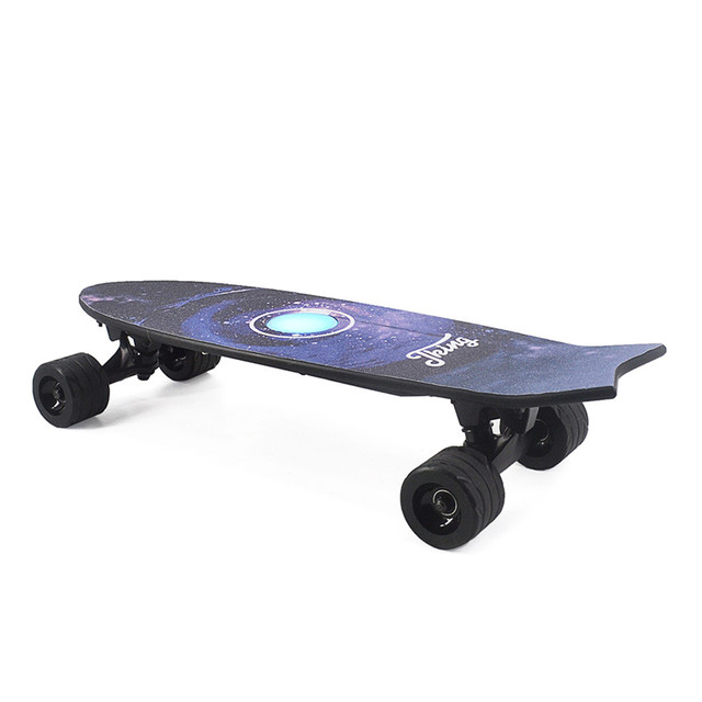 Electric Skateboards with Music Lightweight Scooter E Skateboard E Bicycle Lithium Battery Powered for Adult