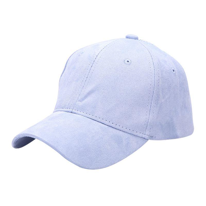 Мужчины женщины регулируемая snapback замши вскользь бейсболка козырек спорт всё шляпу lm75