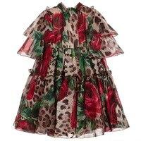 High quality 2019 new Birthday Party Dress Cosplay Dress Kids Costume Baby Girl Clothing For children dress Kids Girls Princess