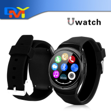 2016 New Original Uwatch Uo Smart Watch Circular Screen Bluetooth SmartWatch Passometer Perfectly Compatible With Android Phone