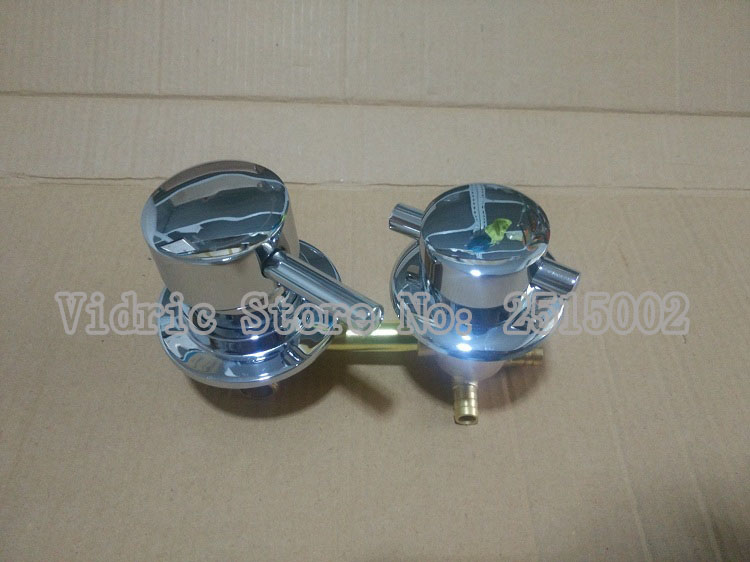 Customized Shower room mixer faucet cold and hot water tap switch, Intubation interface 2/3/4/5 ways bathroom mixing valve