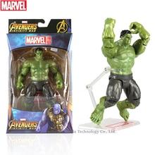 Hasbro Marvel Toys The Avenger Endgame 17CM Super Hero Thor Hulk Wolverine Spider Man Iron Man Action Figure Toy Dolls цены