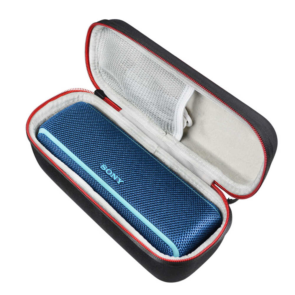 New EVA+PU Carrying Protective Speaker Box Cover Pouch Bag Case for Sony XB21/Sony SRS XB21/Sony SRS-XB21 Bluetooth Speaker Bags
