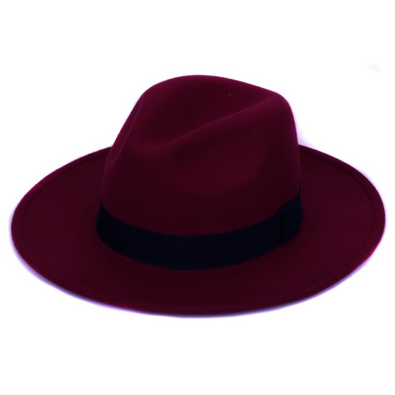 Buona qualità Panama fedora di lana artificiale Puro Cashmere A ... f3212efa0e96