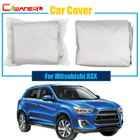 Cawanerl Car Cover Outdoor Sun Rain Snow Resistant Protector UV Anti Cover For Mitsubishi ASX Quality Warrant !