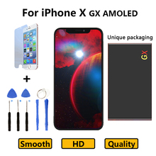 AAA+++ Quality 5.8 inch For iPhone X GX LCD Touch Screen LCD Assembly Replacement Display Pantalla Free Shipping with Gift цена в Москве и Питере