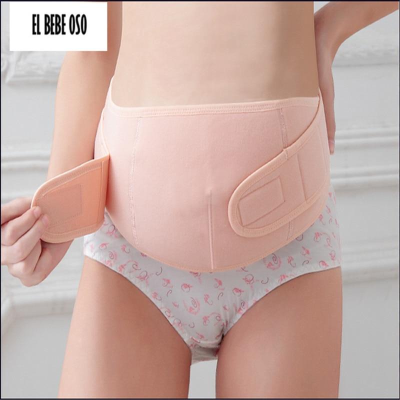 EL BEBE OSO Dual-Zweck-Schwangerschaft Postpartum-Korsett-Bauchgurt Mutterschaftsunterstützungs-Bauchband schwangere Frauen athletische Bandage