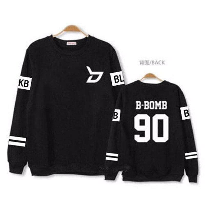 KPOP Block B ZICO PO Album Hoodie K POP Casual Cotton Hoodies Clothes Pullover Printed Long Sleeve Sweatshirts k pop k pop exo