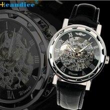 Splendid New Luminous Men Watch Skeleton Military Watches Mechanical Relogio Male Montre Watches Men  2016 Luxury
