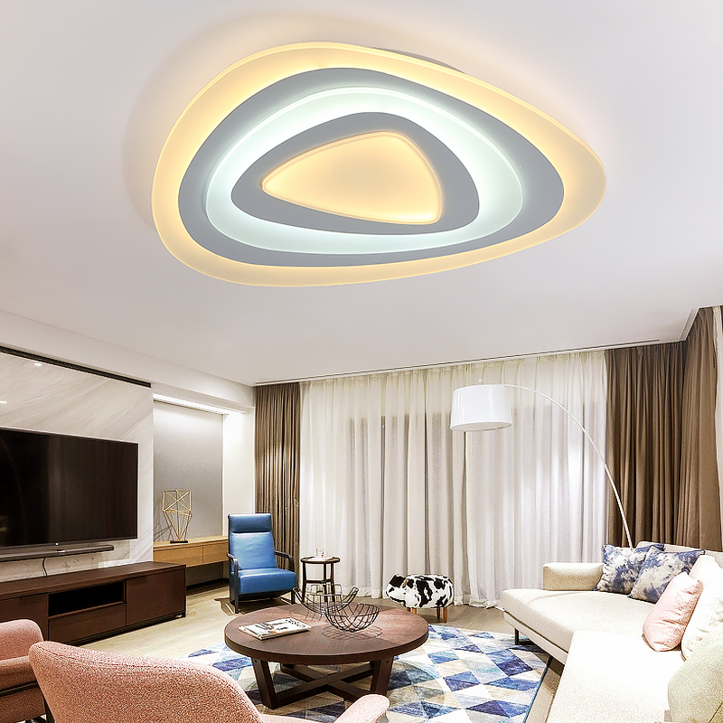 Modern LED Ceiling Lights Simplicity Brightness Dimmable Color Temperature Adjustable Luminaria Ceiling Lamp for Bedroom luster led ceiling lights 24w 220v diamond lighting modern led panel lamp with remote controller brightness color temperature dimmable