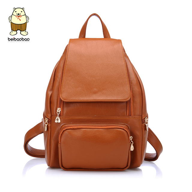 2013 female student backpack school bag women's handbag fashion bag all-match backpack preppy style PU