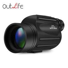 Big sale Outlife 13X50 114 – 1000m Monocular Telescope Wide-angle Prism Scope Waterproof Outdoor Birdwatching Hunting Lens Telescope