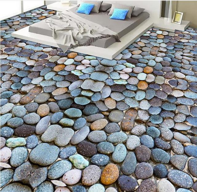 Wallpapers On The Wall 3d Floors Cobblestone Living Room Wallpaper 3d Floor  Painting Kitchen Backsplash Tiles