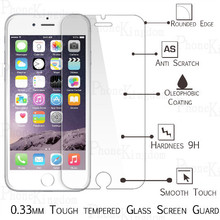 2x For iphone 6 6s Tempered Glass Screen Protector Toughened Protecttive Cover Film Foil For iphone