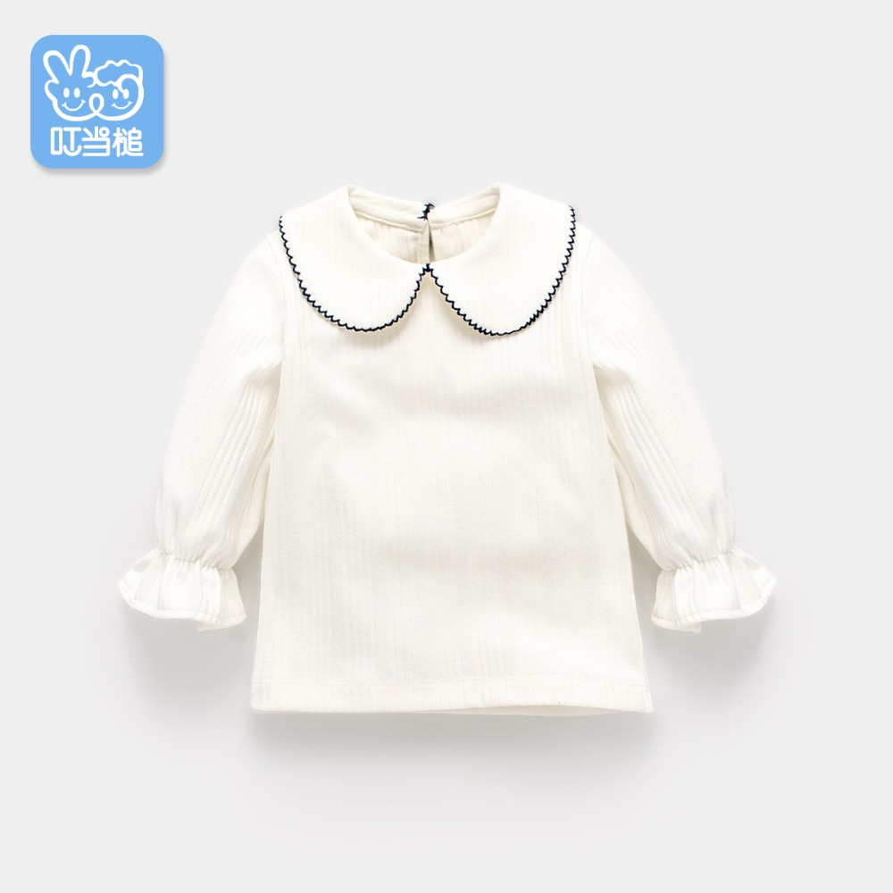 Dinstry girls long-sleeved t-shirt 1-3-6 years old spring and autumn thin 2018 new female baby bottoming shirt autumn T-shirtDinstry girls long-sleeved t-shirt 1-3-6 years old spring and autumn thin 2018 new female baby bottoming shirt autumn T-shirt