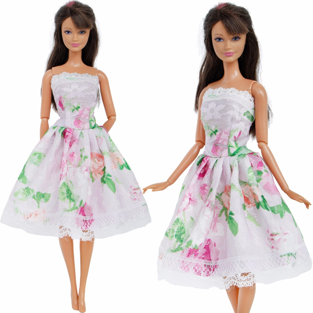 Buy pattern dress summer doll clothes and get free shipping on  AliExpress.com b4098ebf8601