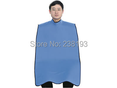 0.5mmpb  high collar waistcoat type apron, dentist x -ray protective apron with thyroid protection ,protective apparel.hospital