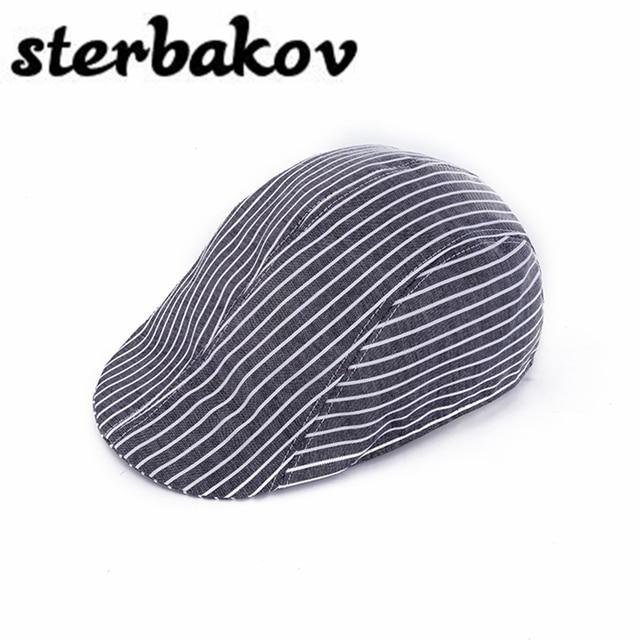 27d8fd6a77077 Moda adultos Boinas gorras para hombres mujeres casquillos unisex clásicos  de la tela escocesa del algodón