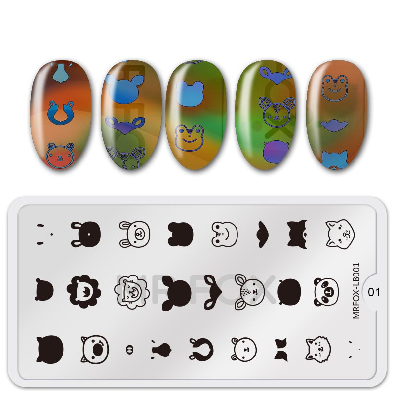 1PC New Nail Stamping Plates SpringFlowers Pattern Image Stamping Printing Nail Art Templates DIY Manicure Stencils Stamp Tools