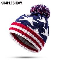 New 2016 Fashion Warm Winter Hat For Women Skullies Beanies Knit Women Warm Hat Beanies Classic Women Hat Female Cap