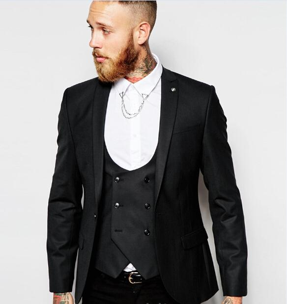 Compare Prices on Black Slim Suits for Men- Online Shopping/Buy ...