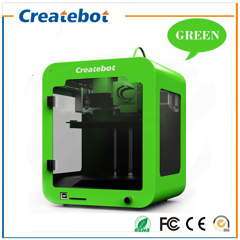 3 D Cheap Createbot 3D Printer Semi-Auto Level Super Mini 3D-Printer Machine Kit With 85*80*94mm Build Size LCD Screen