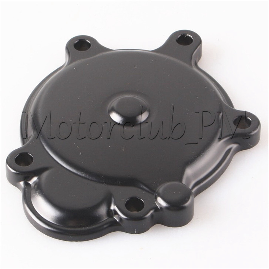 Motorcycle Engine Stator Crankcase Cover Crank Case For Kawasaki Ninja ZX10R 2006-2010 2007 2008 2009 Black rp sma female to y type 2x sma male splitter combiner cable pigtail rg316 one sma point 2 sma connector free shipping