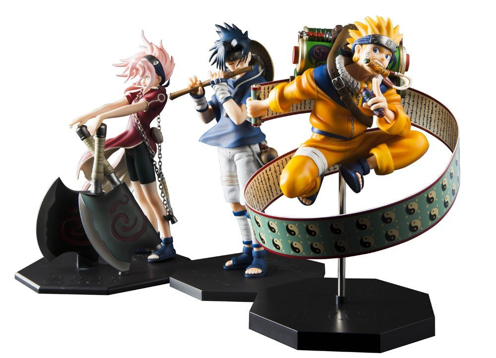 Anime Naruto Shippuden Uchiha Sasuke Flute Ver. PVC Action Figure Figurine Resin Collection Model Toy Doll Juguetes to love ru darkness figure lala satalin deviluke maid ver 1 7 complete figure toy collection anime