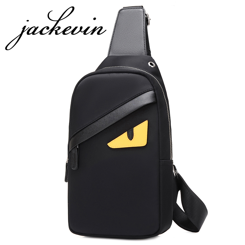 2017 New Unisex Men Messenger Bag Chest Pack Brand Design Cartoon Printing Style Simple Women Shoulder Cross Body Bags