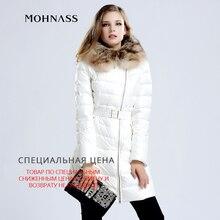 MOHNASS 2015 Brand New Winter Jacket Women Medium-Long Woman Coat Down Jacket Thick Parka Raccoon Fur Collar Woman Coat 3A719620
