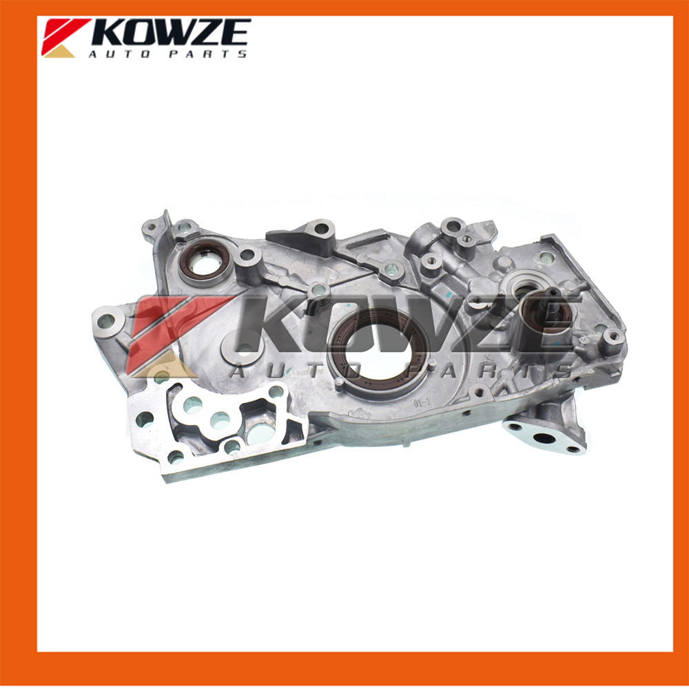 Front Cylinder Block Case Assy Oil Pump Lubrication for Mitsubishi Lancer Outlander Grandis 4G69 2.4L MN137803 new original lenovo g500 g505 g510 15 6 base cover bottom cover ap0y0000700