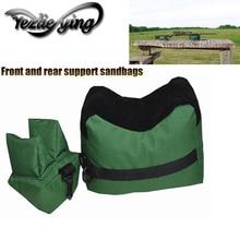 Front And Rear Support Sandbags Shooting Hunting Rifle Bag Sniper Target Sandbag 1 Set