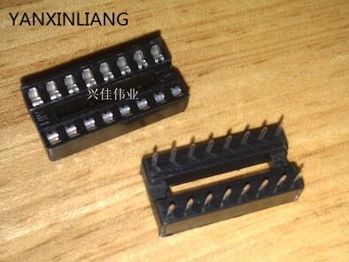 40PCS 16 pin DIP IC Sockets Adaptor Solder Type Socket