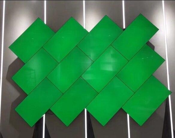 3.5mm Moldura Mosaico parede lcd display led de publicidade em ...