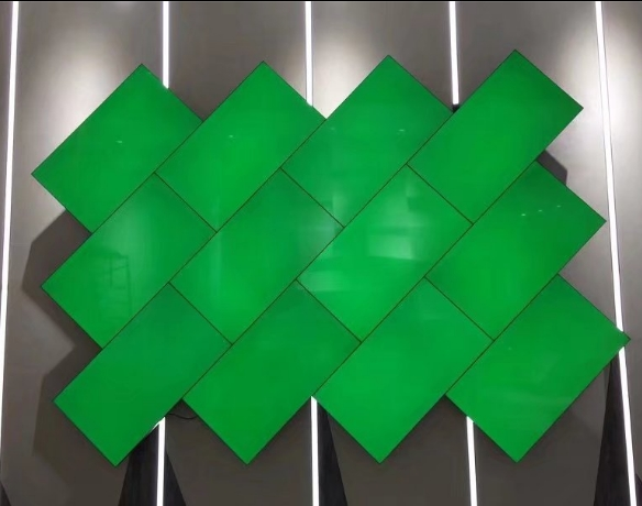 3,5mm bisel mosaico Pantalla de pared lcd led video publicidad Pantalla de pared
